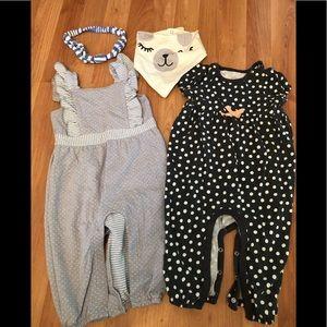 Cat & Jack baby girl 6-9 month bundle